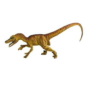 "Vintage 1993 Safari Ltd. Velociraptor Dinosaur 11"" Figure Toy - EXCELLENT"