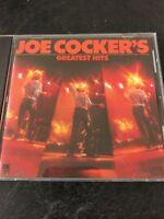 Joe Cocker's Greatest Hits CD - Fast Free Shipping