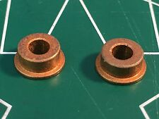 1 pair 1/8 x 1/4 Flanged Oilite Bushings 623 1/24 slot car Mid America raceway