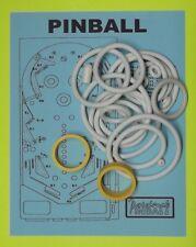 1977 Stern Pinball pinball rubber ring kit