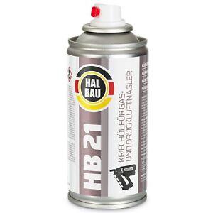 Schmieröl für Gasnagler Druckluftnagler Tacker Montana Paslode Pulsa HB21 HALBAU