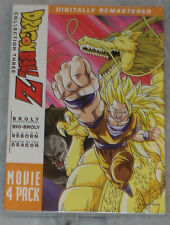 Dragon Ball Z: Movie Pack Colección Tres 3 (Peliculas 10-13) DVD Box Set
