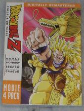 Dragon Ball Z : Film Pack Collection TROIS 3 ( 10-13) DVD Coffret - Scellé