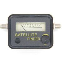 Satellite Finder Find Alignment Signal Meter Receptor for Sat Dish Tv Lnb D Q7E7