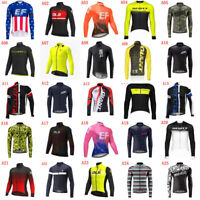2020 Men Team Cycling Long Sleeve Jersey Bike shirt Bicycle tops Racing Clothing