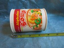 Fisher Price Fun with Food Alphabet Soup Can Replacement Part Container 1987