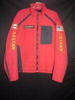 Descente Red Black Nylon Canada US Flag Nastar Insulated Ski Jacket Men's M EB9