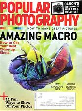 Popular Photography Magazine Amazing Macro: close up shots & Landscape Fixes