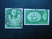 Great Britain #249a,286 Used (XM) I Combine Shipping