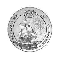 Nautical Ounce Santa Maria 2017 1 oz Silver Argent Rwanda