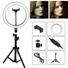 """10"""" LED Ring Light Dimmable 70cm Tripod Stand for Live Streaming YouTube Video"""