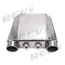 REV9 V2 UNIVERSAL POLISHED WATER TO AIR INTERCOOLER TYPE 2 4.5X16X9 300-800HP