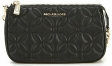 Michael Kors Medium Quilted Chain Pouchette Bag - Black