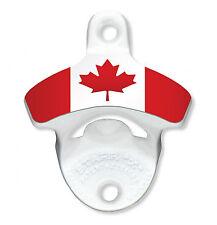 Wall Mounted Bottle Opener (Canadian Flag)
