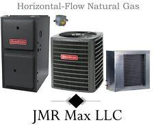92% Hor-Flow 80K btu Natural Gas Furnace + 5 Ton 13 SEER AC Complete System #2
