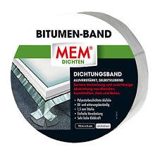 MEM Bitumen-Band Alu 7,5 cm x 10,0m Dichtungsband Dach-Abdichtung Dichtband
