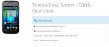New Telstra Easy Smart Android 4.2 Unlocked 3G Sim Free Smartphone - 4GB