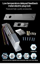 12V DC 5 Line Low Temperature Time Delay Electric Drop Bolt Door Magnetic Lock