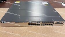 Licencia de servicios IP de Cisco WS-C3750X-24P-E Poe + 3750x-24P-E conmutador Gigabit SFP +