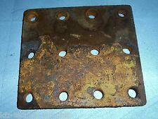Plaque d'espacement Entonnoir d'essieu de Hanomag Brillant 600