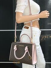 Michael Kors Women Leather Crossbody Bag Handbag Purse Satchel Messenger Wallet