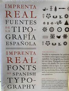 Imprenta Real. Fuentes de la Tipografía Española
