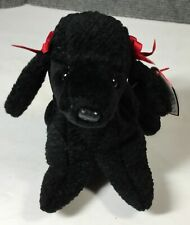 Ty Beanie Babies Gigi the Poodle Dog, 1998 Pe Pellets, New with Tags