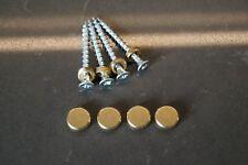 Brass Thorens TD 145 146 147 160 165 166 befestigung set / fixing screw set