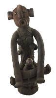 Reliquiario Muzidi Bambola Di Panni Bembe 62cm Congo Rdc Arte Africano 16595
