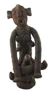 Reliquary Tower Muzidi Puppe Von Rags Bembe 62cm Kongo Rdc Art Afrikanisch 16595