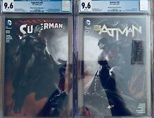 SUPERMAN / BATMAN #50 CGC 9.6 BULLETPROOF SKETCH CONNECTED VAR COV BY DELL'OTTO!
