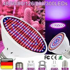E27 LED Pflanzenlicht Pflanzenlampe Wachstumslampe Grow Light Glühbirne 3W-18W