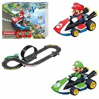 Mario Kart Wii RC IR Radio Remote Control Slot Car Race Track Ages 6+ Carrera