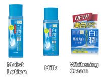 Rohto Hadalabo Shirojyun Medicated Whitening Lotion 170ml/ Milk 140ml/ Cream 50g
