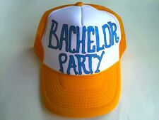 Bachelor Bachelorette Party Wedding Bridal Custom Personalized Trucker Hats Caps