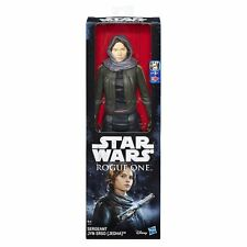Star Wars SERGEANT JYN ERSO ROGUE ONE (JEDHA) Action Figures 30cm Hasbro B9758