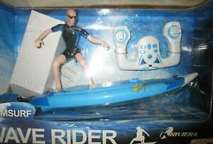 NIB TOYS R US RIVIERA RIV-MSURF RC Model WAVE RIDER Surf Surfboard 2.4 GHz NEW