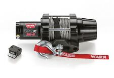 Warn 101030 VRX 35-S Power Sport Winch With 3500 LB Capacity 50' Synthetic Rope