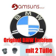 Original BMW Logo Emblème + 2x becs 82 mm Badge Capot Hayon 1er 3, 5