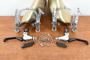 Avid Arch Supreme Front & Rear Ultimate V-Brakes 90's W Levers Speed Dial Set