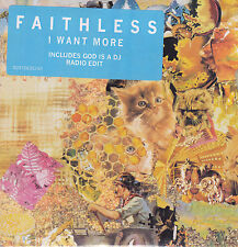 Faithless-I Want More cd single Sealed
