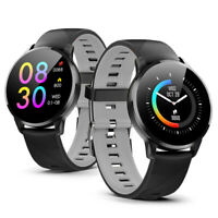 Bluetooth SmartWatch for iOS & Android - Blood Oxygen + Heart Rate + Pedometer