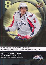 Alexander Ovechkin 2008-09 McDonald's UD Superstar Spotlight #IS13