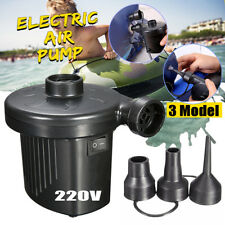 Battery Powered Electric Air Pump Inflatable Bed Airbed Camping Foot Airpump
