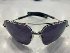 NEW CHROME HEARTS SUNGLASSES QUICKIE SS-BK Titanium Frame RARE BLACK