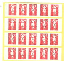 CARNET TYPE MARIANNE DE BRIAT paire N° 2874 - C4 a  daté 5. 10. 94 ** cote €60