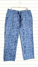 Tommy Bahama Men's Blue Hula Girl Woven Pajama Pants XL