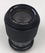 Tamron 70-210mm 58A Adaptall Teleobiettivo Zoom. Sony, Nikon, Canon fotocamera ecc.