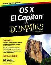 OS X el Capitan for Dummies by Bob LeVitus (2015, Paperback)