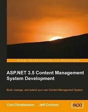 NEW ASP.NET 3.5 CMS Development by Curt Christianson
